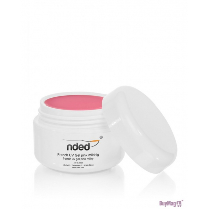 Gel Uv Nded 15 Ml  French Pink Lactee