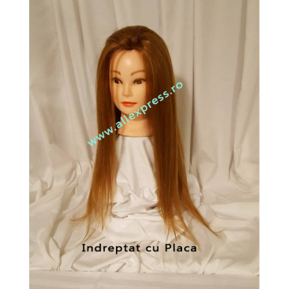 PAR BLOND NATURAL 100% - LUNGIME 55CM