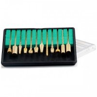 Carbid freza unghii - set 12 buc