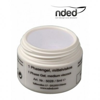 Gel uv monofazic (3 in 1) nded - 5 ml