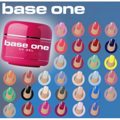 Gel uv color base one - 5ml (diverse culori)