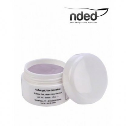Gel uv constructie vascozitate mare nded - 15 ml