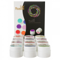 Gel UV Color NEON - set 12 nuante