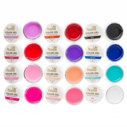 Gel Uv Color - Lila Rossa  set 12 nuante