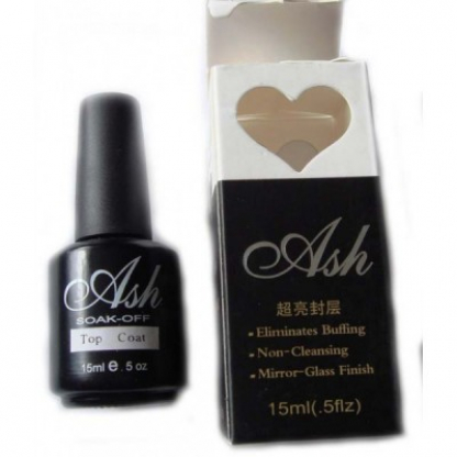 Top coat gel uv soak off ash - 15ml