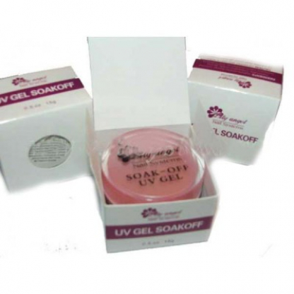 Gel uv soak off clear lily angel -30 gr