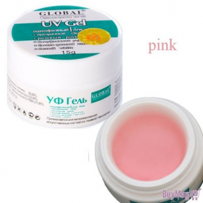 Gel uv global pink laptos
