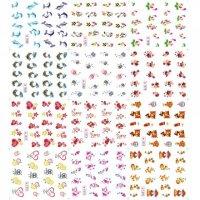 Abtibilduri unghii 12 in 1 cu animale marine