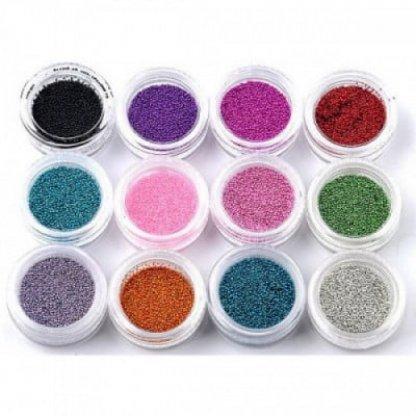 Set 12 bucati cutii perlute - caviar