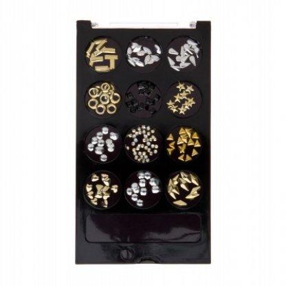 Ornamente metalice pentru decor unghii