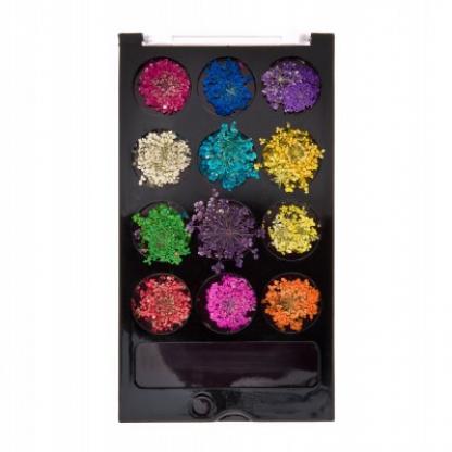 Flori uscate pentru unghii - set 12pcs