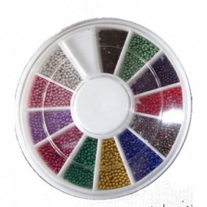 Carusel perlute 12 pozitii - caviar