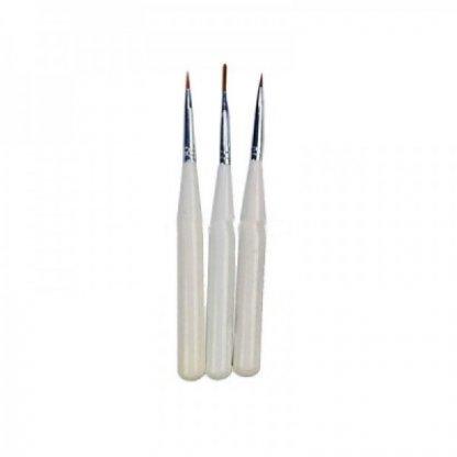 Set 3 pensule pentru pictura