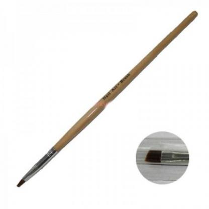 Pensula gel unghii nr 4 cu varf drept