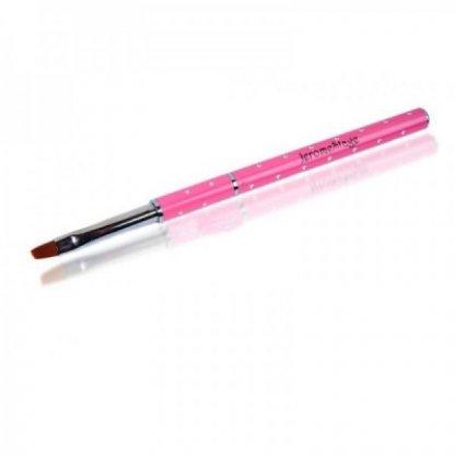 Pensula gel unghii nr 6 jeromestage, pink