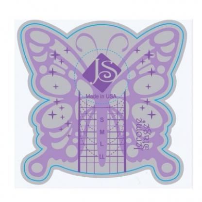 Sabloane unghii fluture jeromestage - 500buc
