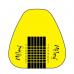 Sabloane manichiura aurii late -500buc