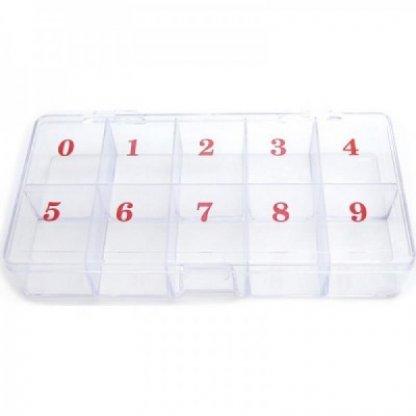 Cutie numerotata pentru tipsuri