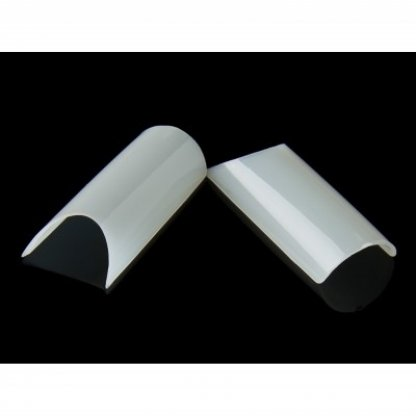 Tipsuri unghii pipe natur - 100 buc