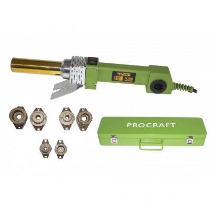 Ciocan electric de lipit tevi PPR Procraft PL2000, 2000W + 6 capete, Sudat Polipropilena