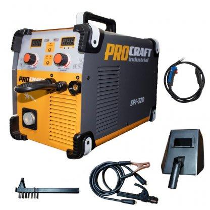 Invertor MMA + MIG Procraft SPI 320 Amperi + Set cabluri si furtun MIG