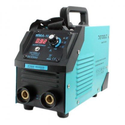 Aparat de sudura Detoolz, 190 A, 8.9 kVA, electrozi 1.6 - 5 mm, afisaj electronic, functii VDR, Hot Start, Arc Force