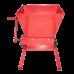 Zdrobitor Struguri Manual FERMER HGP-50, Capacitate 300-500 Kg/Ora, Cuva 25 Litri