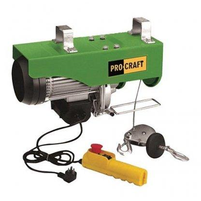 Palan electric Procraft TP-250 125/250 kg - Palan electric macara