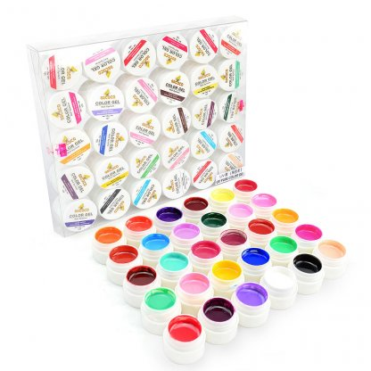 Geluri color Lila Rossa - set 30 culori