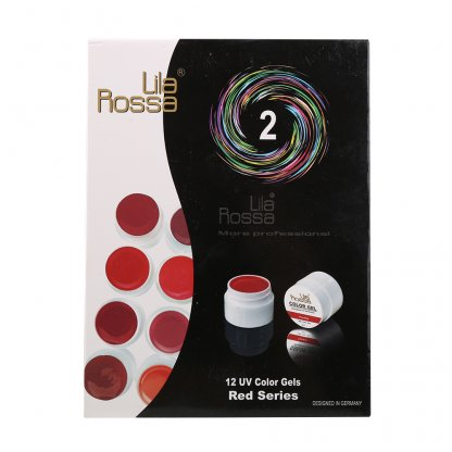 Gel color UV Red set 36
