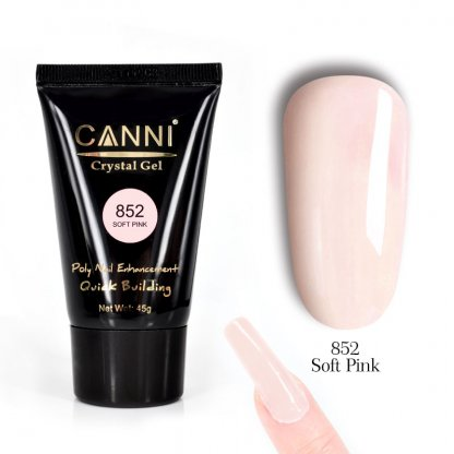 Polygel Canni Soft Pink 45g