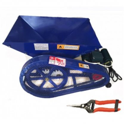 Zdrobitor struguri electric- 500kg/h + foarfeca cadou
