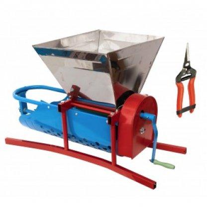 Zdrobitor de struguri- 500kg/h + foarfeca cadou