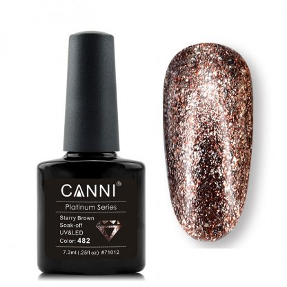 Oja semipermanenta Canni Glitter 7.3ml