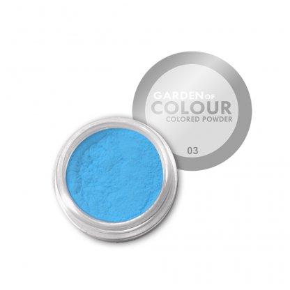 Pudra acrilica Blue Neon 4g
