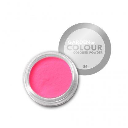 Pudra acrilica Pink Neon 4g