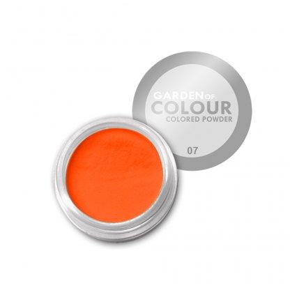 Pudra acrilica Orange Neon 4g