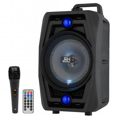 Boxa portabila jrh a62 200w bluetooth cu microfon si Telecomanda