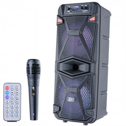 Boxa activa jrh A2801 3000W bluetooth Microphone telecomanda