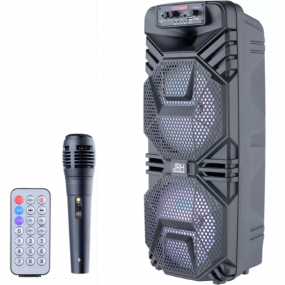 Boxa activa jrh A2803 3000W bluetooth cu microfon si telecomanda