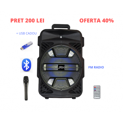 Boxe bluetooth activa Jrh p12 250w Microfon