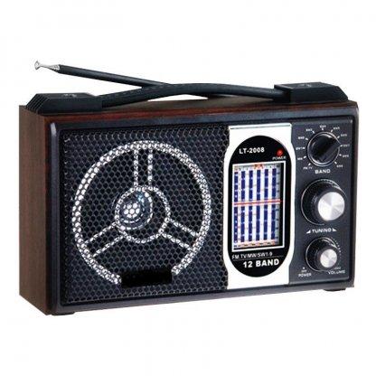 Radio portabil Leotec LT-2008, 11 benzi
