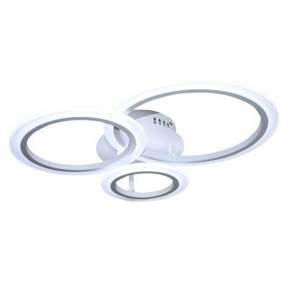 Lustra led cu Circle design L8861-3 lumina calda, rece si lumina naturala, intensitate reglabila