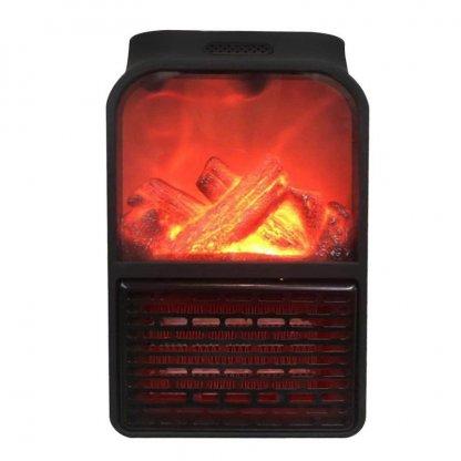 Aeroterma portabila Flame Heater, 500 W, 2 niveluri temperatura, display digital