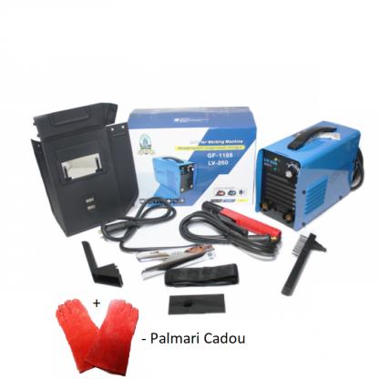 Invertor MICUL FERMIER LV-300 (160A) Blue + PALMARI PENTRU SUDURA CADOU