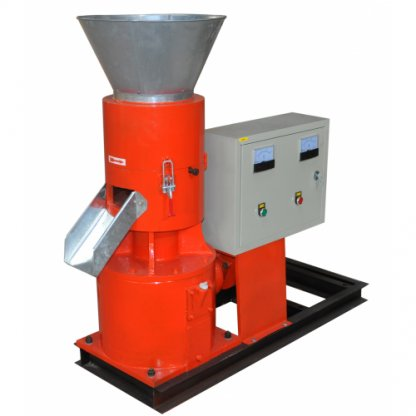 Granulator electric pentru furaje KL-200 capacitate max. 300 kg/h. Motor 7,5 KW (380V)