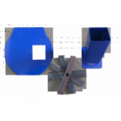 Set accesoriu cutite pentru moara de facut furaje