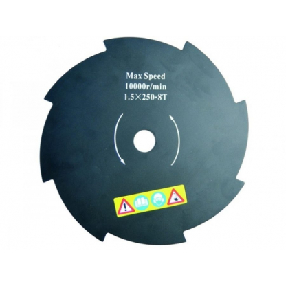 Disc Motocoasa Stern  250 X 1.5 Mm, 8 Dinti