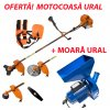Pachet Avantajos - Moara + Motocoasa Ruseasca URAL