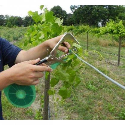 Cleste aparat pentru legat vita de vie ( via ) legume si pomi fructiferi Model 2018